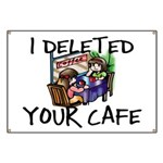Deleted Cafe Banner