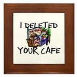 Deleted Cafe Framed Tile