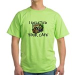 Deleted Cafe Green T-Shirt