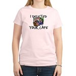 Deleted Cafe Women's Light T-Shirt