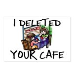 Deleted Cafe Postcards (Package of 8)