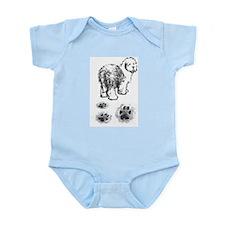 Footprint Infant Creeper