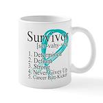 Survivor Ovarian Cancer Mug