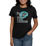 Survivor Ovarian Cancer Women's Dark T-Shirt