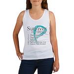 Survivor Ovarian Cancer Women's Tank Top
