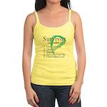 Survivor Ovarian Cancer Jr. Spaghetti Tank