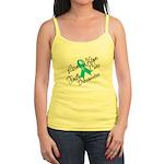 Love Hope Ovarian Cancer Jr. Spaghetti Tank