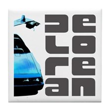 Delorean Tile Coaster