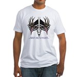 Free men hunt Fitted T-Shirt