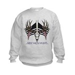 Free men hunt Kids Sweatshirt