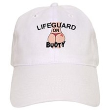 Lifeguard On Booty! Baseball Cap