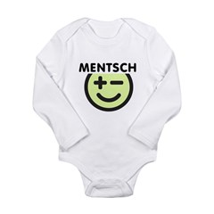 Mentsch Long Sleeve Infant Bodysuit