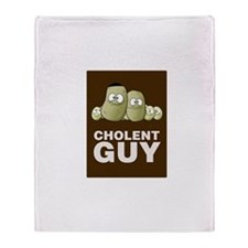 Cholent Guy 2 Throw Blanket