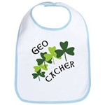 Geocacher Shamrocks Bib