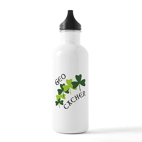 Geocacher Shamrocks Stainless Water Bottle 1.0L