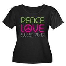 Peace Love Sweet Peas T