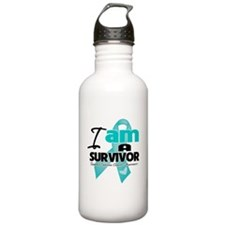 I'm a Survivor Ovarian Cancer Sports Water Bottle