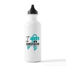I'm a Survivor Ovarian Cancer Water Bottle