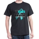 I'm a Survivor Ovarian Cancer T-Shirt