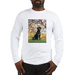 Spring & Black Lab Long Sleeve T-Shirt