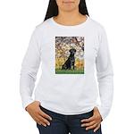 Spring & Black Lab Women's Long Sleeve T-Shirt