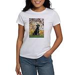 Spring & Black Lab Women's T-Shirt