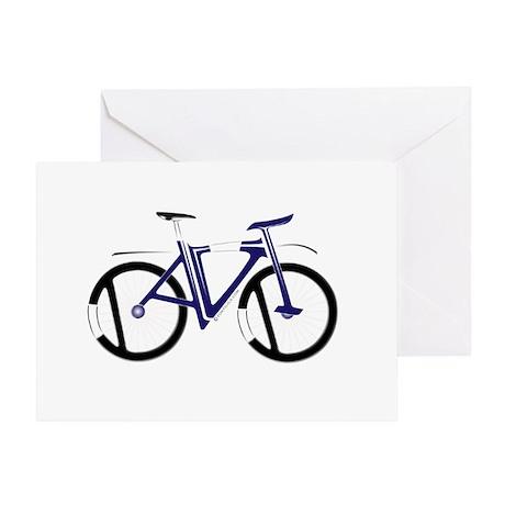David (Bike new Design) Greeting Card