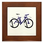 David (Bike new Design) Framed Tile