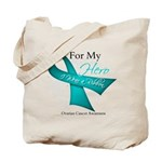 For My Hero Ovarian Cancer Tote Bag