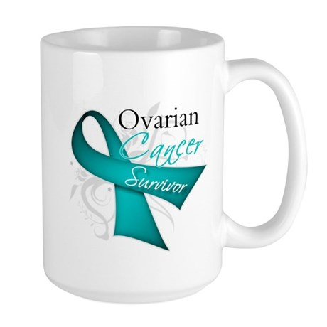 Ovarian Cancer Survivor Large Mug