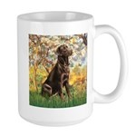 Spring / Choc Lab 11 Large Mug