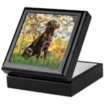 Spring / Choc Lab 11 Keepsake Box