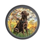Spring / Choc Lab 11 Wall Clock