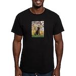 Spring / Choc Lab 11 Men's Fitted T-Shirt (dark)