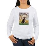 Spring / Choc Lab 11 Women's Long Sleeve T-Shirt