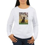 Spring / Choc Lab 11 Women's Long Sleeve T-Shirt