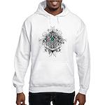 Faith Cross Ovarian Cancer Hooded Sweatshirt