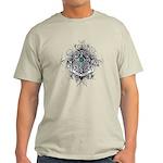 Faith Cross Ovarian Cancer Light T-Shirt