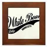 White Bear Lake, MN Framed Tile