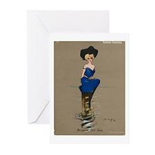 Atlantic City Girl Greeting Cards (Pk of 10)