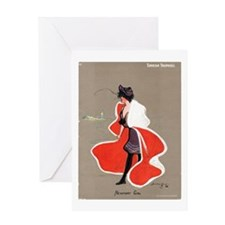 Newport Girl Greeting Card