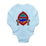 Guam Seal Long Sleeve Infant Bodysuit