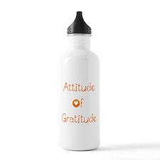 Attitude of Gratitude Water Bottle
