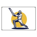 cricket sports player Banner