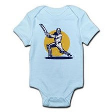 cricket sports player Infant Bodysuit
