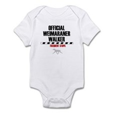 Official Weimaraner Walker Infant Creeper