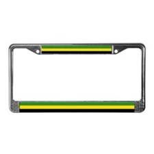 Jamaican Flag License Plate Frame