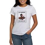 Dangerous Rattlesnake Poster Art Women's T-Shirt