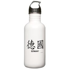 Germany in Chinese Water Bottle