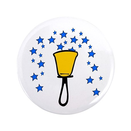 "Star Fountain 3.5"" Button"